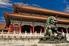 The Forbidden City, Bejing China.  Photo by Ian Schofield.