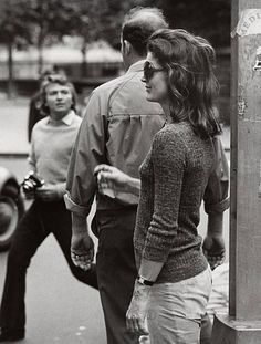 Jackie Kennedy Onassis during Jackie Onassis Sighting at Madison Avenue in  New York City - October e59151d2911f