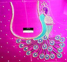 Aari Embroidery, Embroidery Works, Embroidery Suits, Embroidery Patterns, Salwar Designs, Saree Blouse Designs, Blouse Patterns, Maggam Work Designs, Back Neck Designs