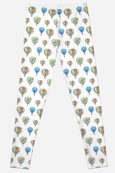 Colorful Aerostats seamless pattern by farawayart