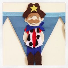 A personal favourite from my Etsy shop https://www.etsy.com/uk/listing/471077992/cowboys-and-indians-bunting-decoration