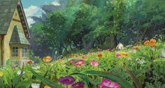 The Secret World of Arrietty / The Borrower Arrietty,Studio Ghibli,Anime Scenery