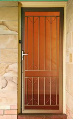 Steel Secure Grille Gallery | MJ Security Doors Adelaide & This door at Bridgeman Downs came about because the customer wanted ...