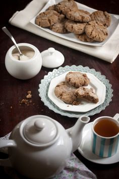 soft and spicy ginger cookies - Manifest Vegan
