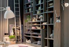 Marchetti mobilificio d'arte s.p.a. - Bifacial custom-made bookcases