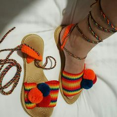 Decorating Flip Flops, Crochet Shoes, Tapestry Crochet, Gladiator Sandals, Espadrilles, Dress Shoes, Slippers, Chic, York