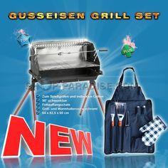 SHOP-PARADISE.COM:  Gusseiserne Grill Set 84,49 €