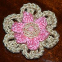 two layer flower broach!
