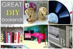 While They Snooze: DIY Bookends Roundup