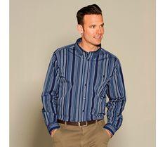 Pánska košeľa s dlhými rukávmi | blancheporte.sk #blancheporte #blancheporteSK #blancheporte_sk #zimnákolekcia #vypredaj #zlavy Shirt Dress, Mens Tops, Shirts, Dresses, Fashion, Vestidos, Moda, Shirtdress, Fashion Styles