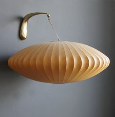 Classic George Nelson Bubble Lamp The Saucer by GallivantingGirls, $289.00