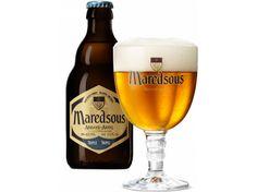 Maredsous Bière d'Abbaye, 10% abv. Lemony finish, very good!