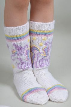 Nordic Yarns and Design since 1928 Knitting Socks, Leg Warmers, Unicorn, Kids, Crafts, Forslag, Design, Sew, Sneakers