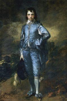 The Blue Boy, 1770 - Thomas Gainsborough - WikiArt.org