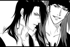 BLEACH - Byakuya///Renji by CuBur.deviantart.com on @deviantART