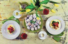 :: breakfast & brunch :: Maple Syrup Brunch for Six | Edible Feast via Edible Michiana #ediblekitchen