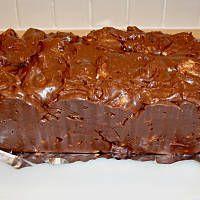 Blok czekoladowy doskonałe proporcje Polish Recipes, Fudge, Nutella, Peanut Butter, Food And Drink, Cooking Recipes, Tasty, Cookies, Baking
