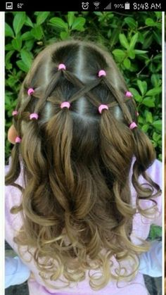 Swell Little Girl Hair Girl Hair And Little Ones On Pinterest Hairstyle Inspiration Daily Dogsangcom