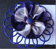 These brooches are fun to make. Chunk the steps into a couple of parts and you will find they are quick to make as well.