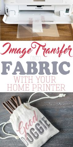 How to transfer an image onto fabric, especially if you cannot print an image directly on the fabric. Transferring an image or text with just your home printer is easier than you might believe. craft craft diy craft for kids craft no sew craft to sale Crafts To Sell, Fun Crafts, Crafts For Kids, Arts And Crafts, Stick Crafts, Baby Crafts, Wax Paper Transfers, Transfer Paper, Image Transfers