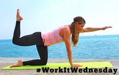 We're showing you how to lift, lunge, bend, and twist while on vacation in @Cosmopolitan. #WorkItWednesday