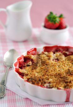 Croustade aux fraises et aux pêches - Châtelaine