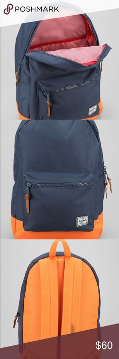 8be61b7a329 New Herschel Two-Tone Weather Settlement Backpack Brand new