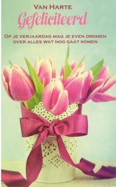 verjaardagskaart vrouw 18 best Verjaardagskaarten bloemen voor vrouwen images on  verjaardagskaart vrouw