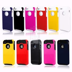 New Color Rugged Rubber Matte Fit Hard Case Cover For Apple iPhone 4 4G 4S ★OR CHOOSE FROM MORE COLORS★SHIPS SAME/NEXT DAY-PHX,AZ★ $3.10