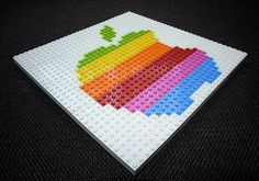 Old Apple Logo Lego