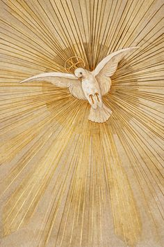 Photo about Dove of Peace or Bird of Peace is a religious symbol used in the Christian faith to repersent the Holy Spirit. Image of prayer, dove, icon - 15500567 Jesus Art, Jesus Christ Images, Catholic Art, Religious Art, Catholic Pictures, Saint Esprit, Peace Art, Spirited Art, Holy Ghost