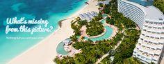 Look at the swimming pool! It's like a lazy river! :D Lucayan Beach & Golf Resort,Lucaya, Freeport, Grand Bahama Island Bahamas Family Resorts, Hotels And Resorts, Bahamas Beach, Bahamas Vacation, Bahamas Cruise, Cruise Vacation, Vacation Rentals, Dream Vacations, Honeymoon Spots
