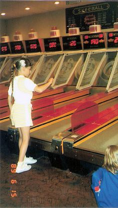 I used to spend every summer at the Jersey shore playing Skee Ball. Yeah, I sucked, but it was fun.