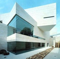 «House in Pozuelo de Alarcón  by A-cero Architects,Madrid,Spain  http://bit.ly/1Emhasz»