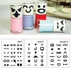 Splendid Color Will Be Random Diy Expression Paper Stickers Tape (3 PCS)  www.asujewelry.com