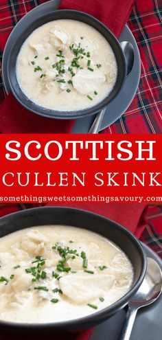 Cullen Skink is a creamy Scottish soup made with smoked haddock, onions and milk. It's pure comfort food and very easy to make at home. Chili Recipes, Fish Recipes, Soup Recipes, Recipies, Scottish Recipes, Turkish Recipes, Romanian Recipes, Veg Soup, Vegetarian Soup