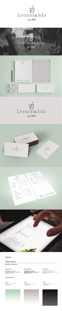 Brandnation Poland; Conceptual logo, branding, visual identity and web design for Lemoniada Bar in Warsaw