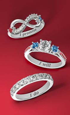 """No matter where you are in a relationship, a ring is a beautiful way to say """"You're the one."""" With Jewlr, you can personalize the perfect ring with your choice of metal, gemstones and special engraving. We offer free shipping, free resizing, free returns and each item comes with a free gift, too!"""