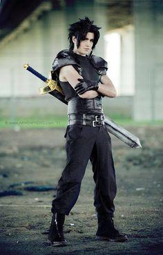 Zack Fair Character: +Zack Fair Series: Final fantasy VII Crises Core #cosplay #finalfantasy #squareenix #crisescore #remake