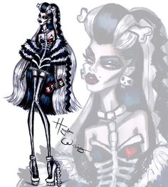 #Hayden Williams Fashion Illustrations: #'Lovely Bones' by Hayden Williams 