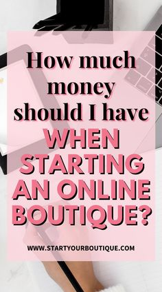 The amount of starter capital needed will depend on the type of boutique you're starting. The minimum I recommend to my students is $3500. To learn more click this pin and watch the full video. Small Business Accounting, Accounting Software, Starting An Online Boutique, Self Employment, Finance, Students, Marketing, Money, Watch