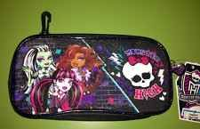 MONSTER HIGH Pencil And School Supplies Case With Hook To Attach To Bookbag  NEW