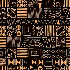 African ethnic pattern tribal art background Africa style is part of - Millions of Creative Stock Photos, Vectors, Videos and Music Files For Your Inspiration and Projects African Tribal Patterns, African Textiles, Ethnic Patterns, Prints And Patterns, Tribal African, African Prints, African Fabric, Tribal Prints, Tribal Art