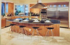 interior design ideas kitchen photos kitchen island design ideas small kitchen design pictures ideas #Kitchen