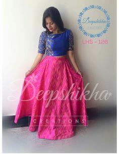 Pingl par vineetha vasunandan sur half sarees pinterest for Concepteurs de robe de mariage australien en ligne