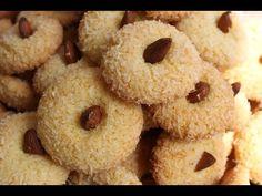Kaab Ghzal au Sésame - Moroccan Kaab Ghzal with Sesame Seeds - حلوة اللوز / كعب الغزال - YouTube