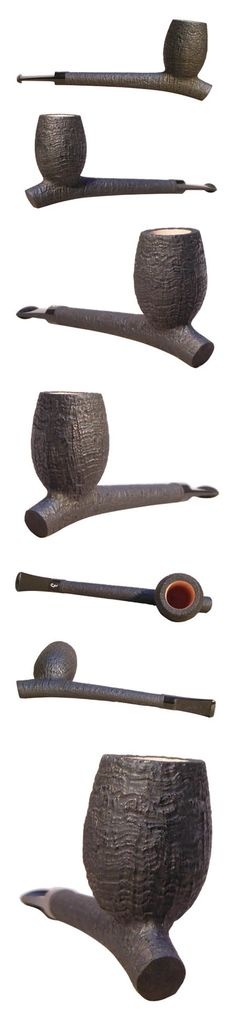 Missouri Meerschaum Corncob Pipes - Aristocob Rusticobs on the left ...