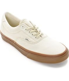 ad14ba31bc4bcd Vans Era 59 Hiking White and Gum Skate Shoes
