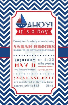 Sailor Baby Shower Invitations with good invitations sample