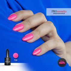 Lakier hybrydowy PROnail 708 - Neonowa Lala Fashion Network, Nail Designs, Lipstick, Nail Art, Nails, Inspiration, Beauty, Instagram, Ideas